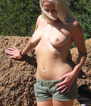 Blondine Fick